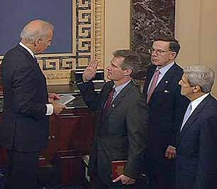 Oath of Office for members of Congress by Ilona Nickels