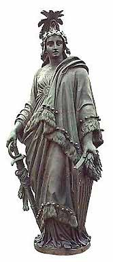 Statue of Freedom by Ilona Nickels